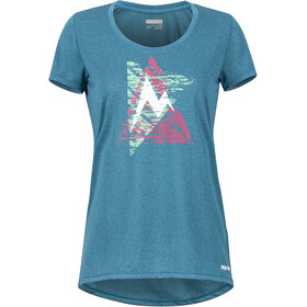 Marmot Post Time Camiseta manga corta Mujer, late night